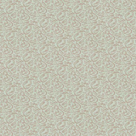 Шпалери AS Creation Valencia 3708-39 зелено-коричневі класичні візерунки 1,06 х 10,05 м
