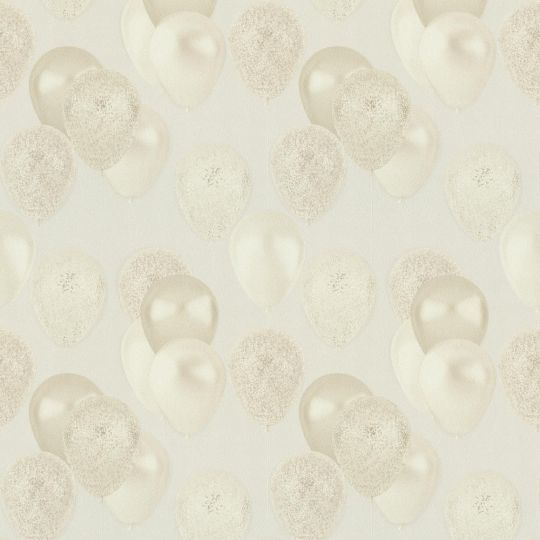 Шпалери AS Creation Happy 37150-3 повітряні кульки бежеві