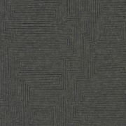 Шпалери AS Creation Origin Ethno 37171-3 чорний лабиринт 0,53 х 10,05 м