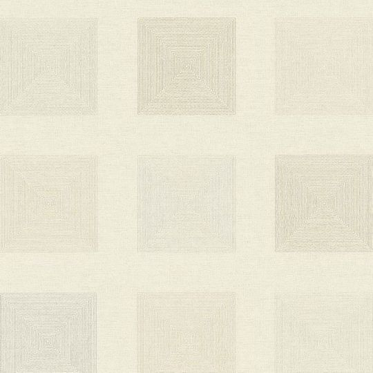 Шпалери AS Creation Origin Ethno 37172-3 бежеві квадрати 0,53 х 10,05 м