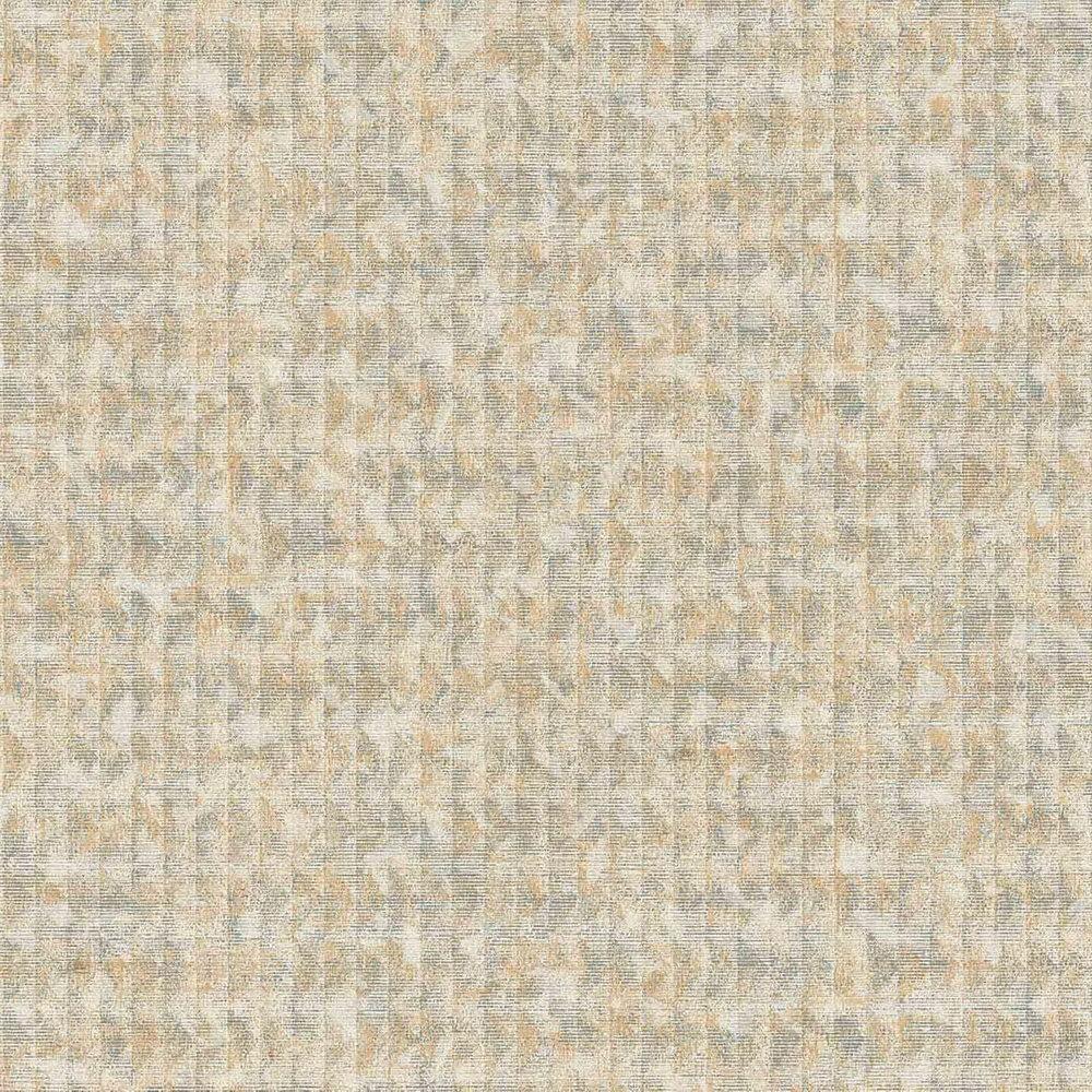 Обои AS Creation Origin Ethno 37173-4 оранжевая абстракция в полоску 0,53 х 10,05 м