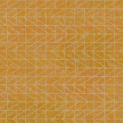 Шпалери AS Creation Origin Ethno 37174-2 жовті в клітинку модерн 0,53 х 10,05 м