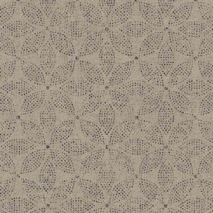 Обои AS Creation Origin Ethno 37176-4 серая мозаика цветы 0,53 х 10,05 м