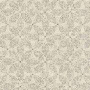 Обои AS Creation Origin Ethno 37176-5 белая мозаика цветы 0,53 х 10,05 м