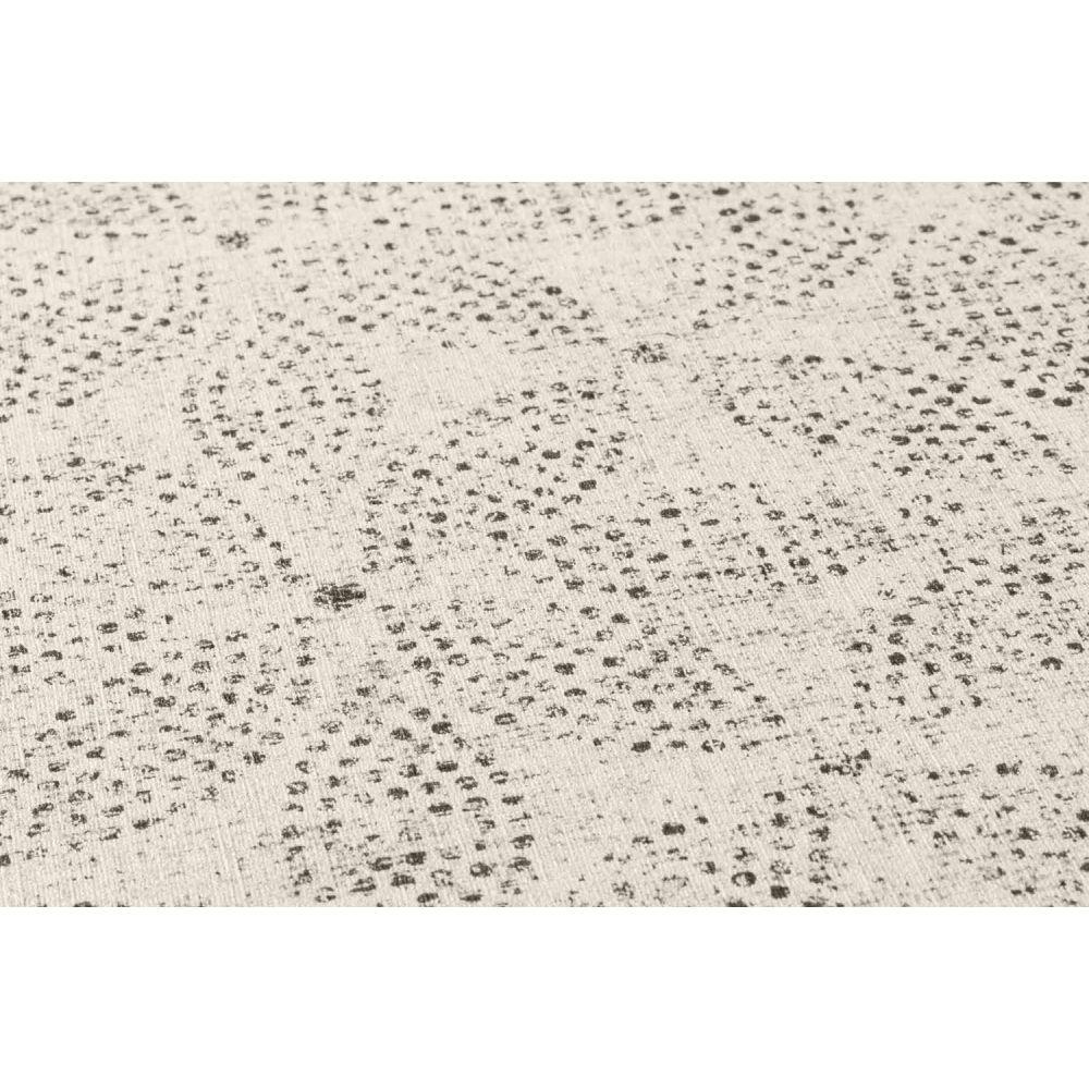 Шпалери AS Creation Origin Ethno 37176-5 біла мозаїка квіти 0,53 х 10,05 м