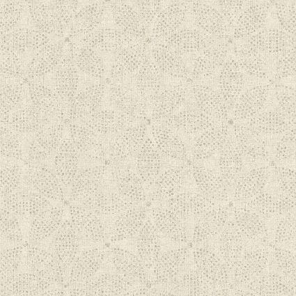 Обои AS Creation Origin Ethno 37176-6 кремовая мозаика цветы 0,53 х 10,05 м