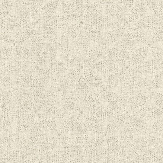 Шпалери AS Creation Origin Ethno 37176-6 кремова мозаїка квіти 0,53 х 10,05 м