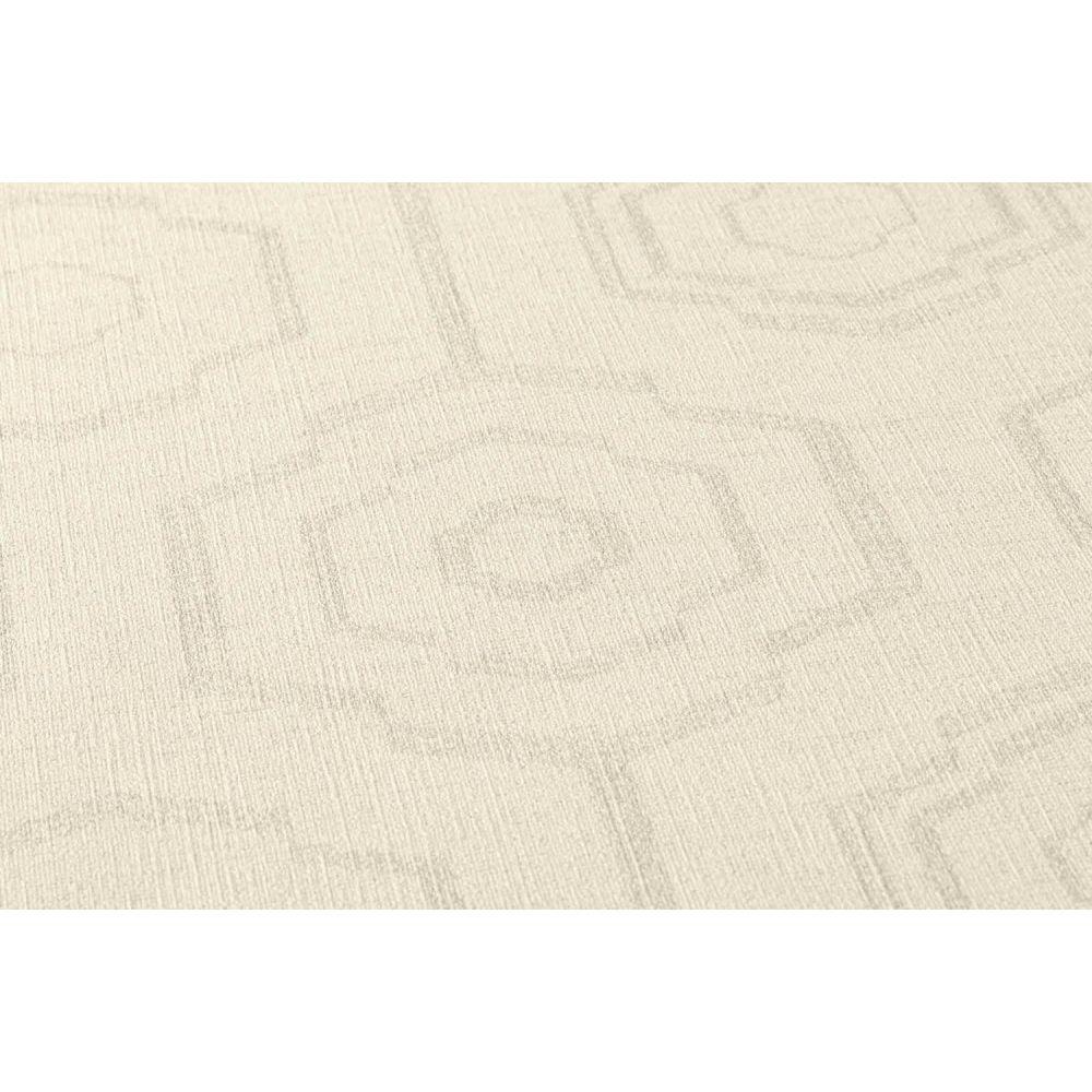 Шпалери AS Creation Origin Ethno 37177-2 стільники кремовий 0,53 х 10,05 м