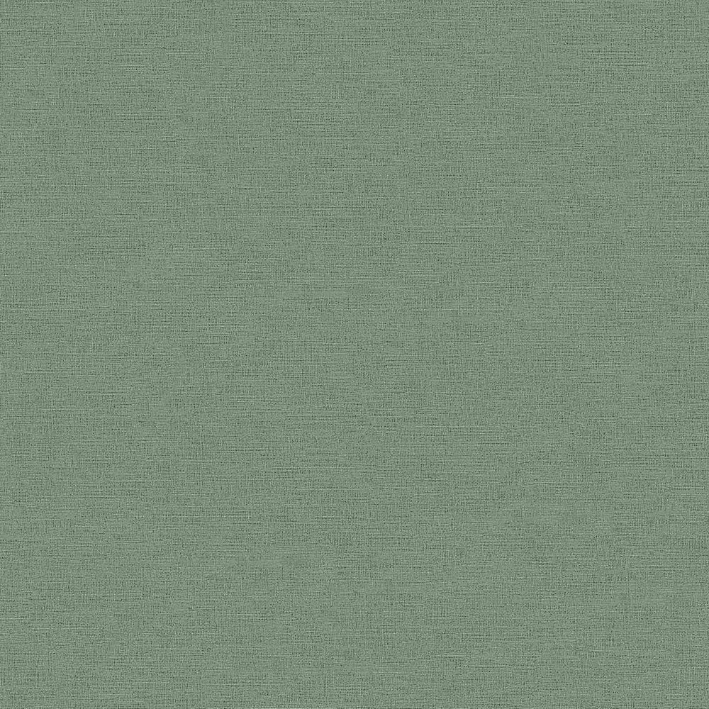 Шпалери AS Creation Origin Ethno 37178-7 зелена однотонка 0,53 х 10,05 м