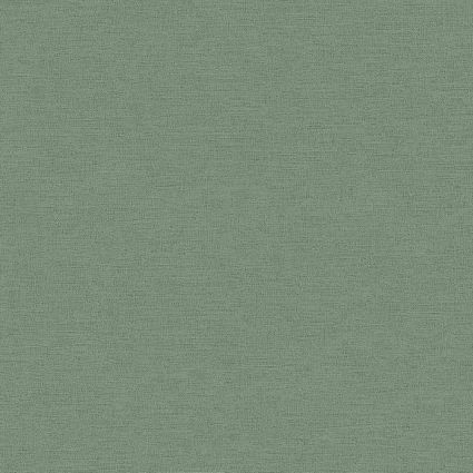 Обои AS Creation Origin Ethno 37178-7 зеленая однотонка 0,53 х 10,05 м