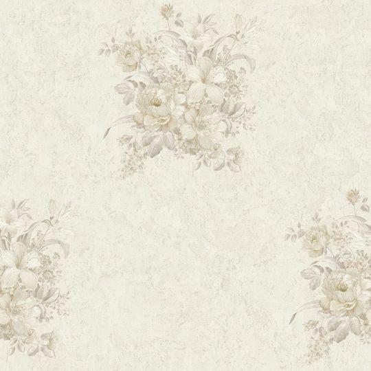Обои AS Creation Romantico 37225-4 букетик на белом фоне