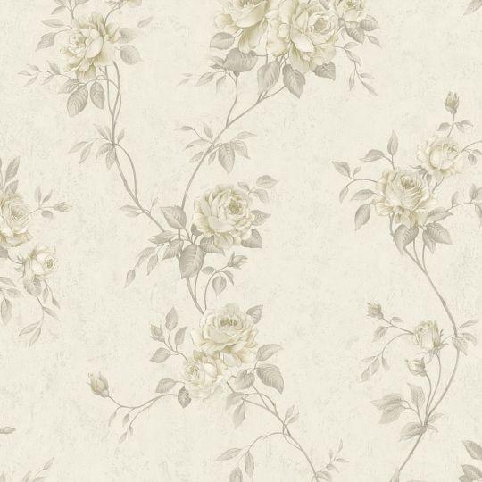 Шпалери AS Creation Romantico 37226-3 розарій кремово-коричневий