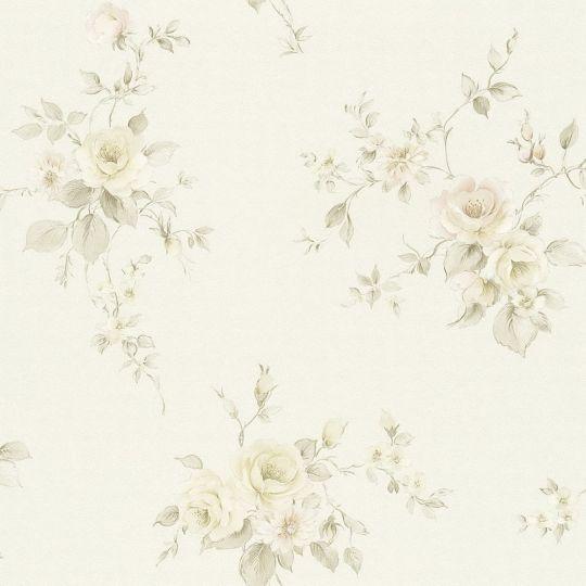 Обои AS Creation Romantico 3723-38 прованс бежево-розовые цветы