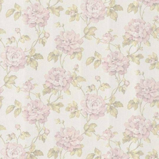 Шпалери AS Creation Sibylla 37338-1 рожеві квіти 1,06 х 10,05 м