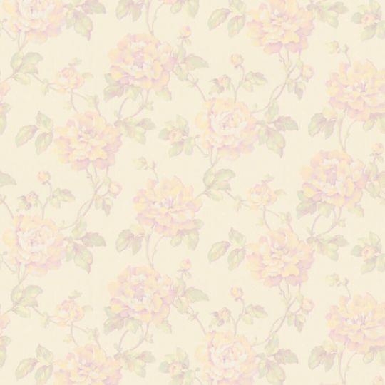 Шпалери AS Creation Sibylla 37338-4 жовті квіти 1,06 х 10,05 м