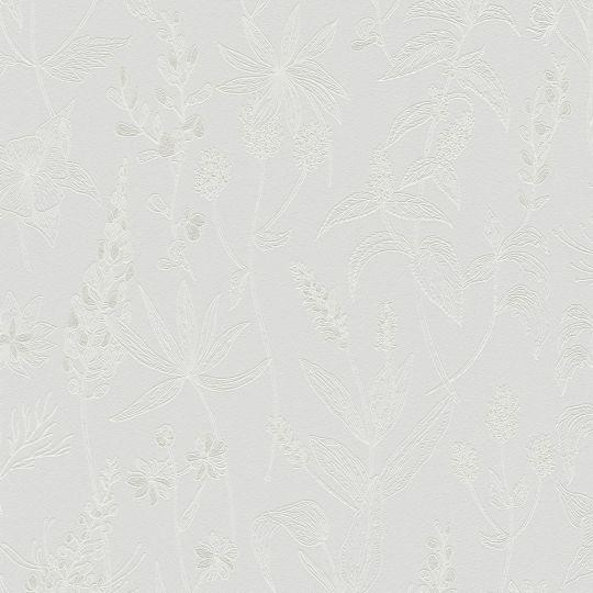 Шпалери AS Creation Trendwall 37363-6 трав'яний збір ніжно-блакитні