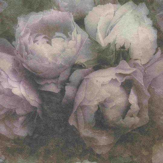 Шпалери AS Creation New Walls 37392-2 півонії темно-рожеві