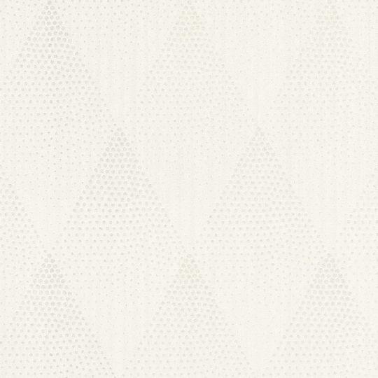 Обои AS Creation New Walls 37419-2 ромбы с блестками белые