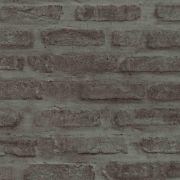 Обои AS Creation New Walls 37422-3 под кирпич графитовые