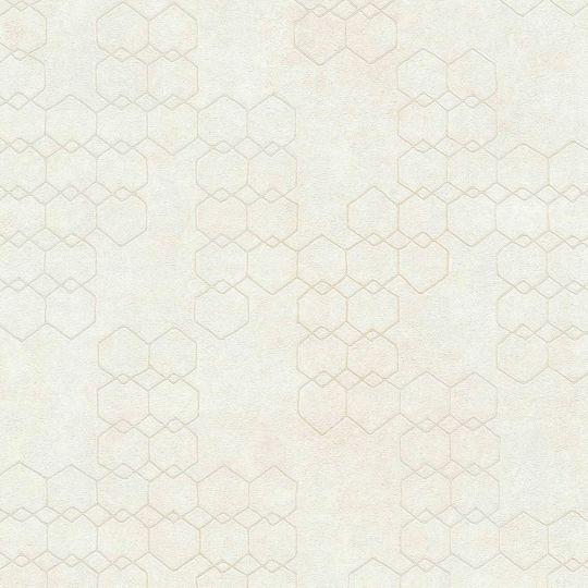 Шпалери AS Creation New Walls 37424-1 стільники білі
