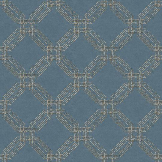 Обои AS Creation Pop Style 37477-3 цепочки синие
