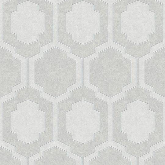 Обои AS Creation Pop Style 37479-2 геометрия серые