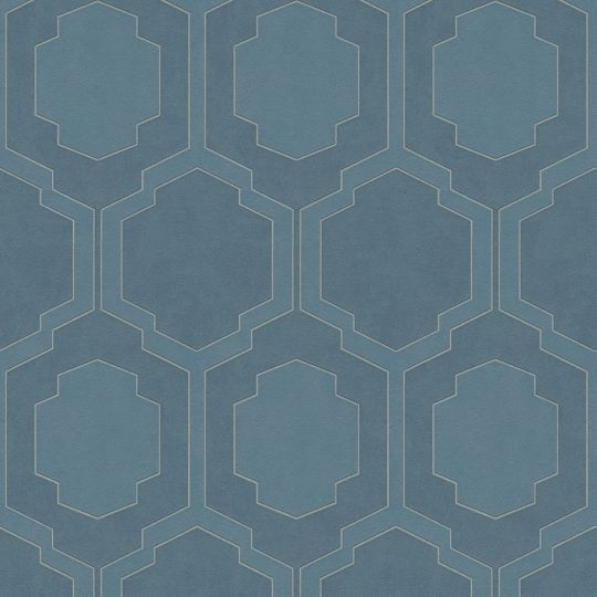 Обои AS Creation Pop Style 37479-4 геометрия синие