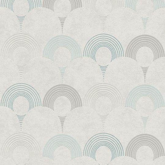 Обои AS Creation Pop Style 37480-4 арки серо-голубые