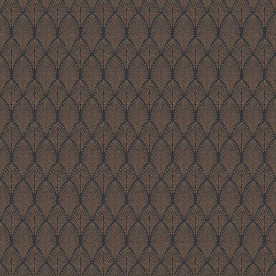 Обои AS Creation Pop Style 37484-2 ар деко черно-коричневые с блестками