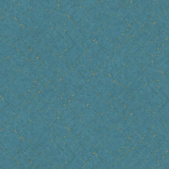 Обои AS Creation Graphics 37602-2 синяя штукатурка с насечками
