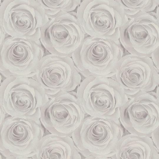 Шпалери AS Creation Roses 37644-4 3D троянди сірі