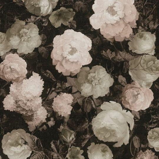 Шпалери AS Creation History of Art 37650-4 квіти на полотні рожеві