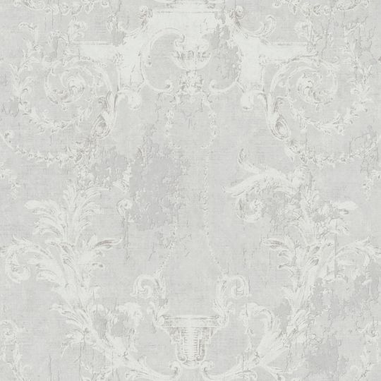 Шпалери AS Creation History of Art 37653-1 фреска з візерунками світло-сіра