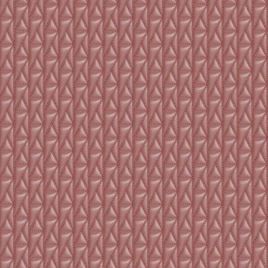 Дизайнерські шпалери AS Creation Karl Lagerfeld 37844-2 стьобана шкіра червона