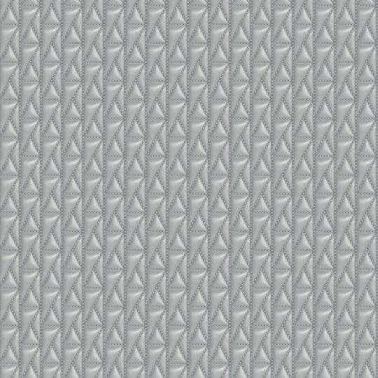 Дизайнерські шпалери AS Creation Karl Lagerfeld 37844-3 стьобана шкіра сіра