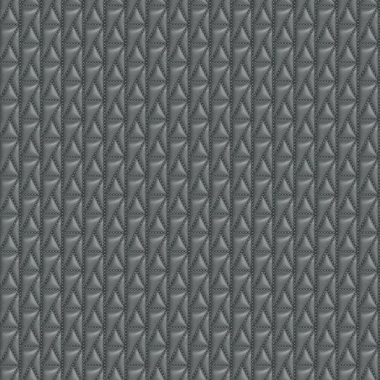 Дизайнерські шпалери AS Creation Karl Lagerfeld 37844-4 стьобана шкіра темно-сіра