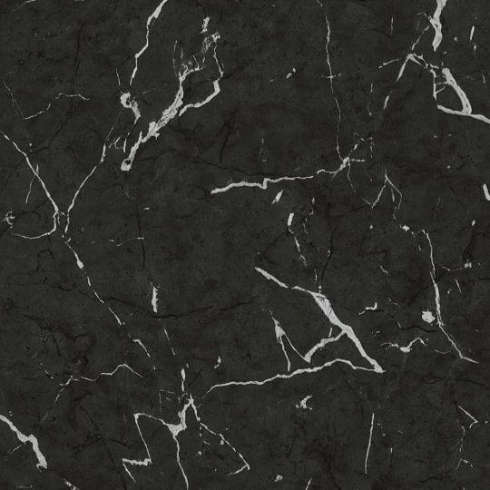 Шпалери AS Creation Metropolitan 2 37855-2 глянсовий мармур чорний