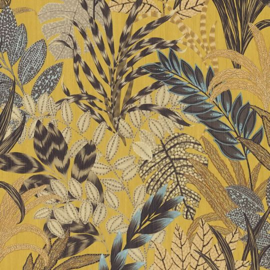 Обои AS Creation Metropolitan 2 37860-1 яркие тропики желтые