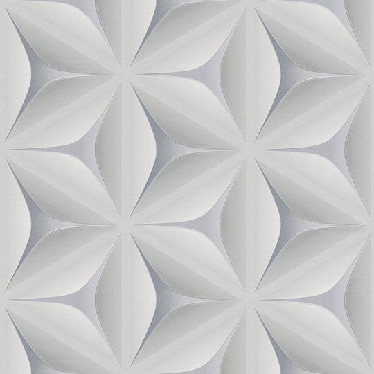 Шпалери AS Creation Podium 37909-1 3D абстракція сірі