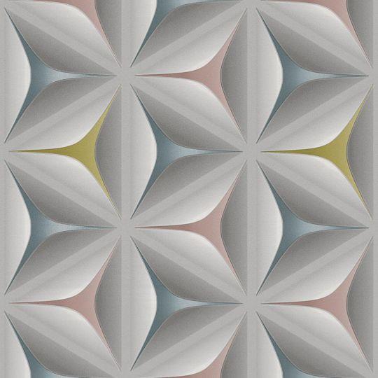 Шпалери AS Creation Podium 37909-2 3D абстракція різнобарвна