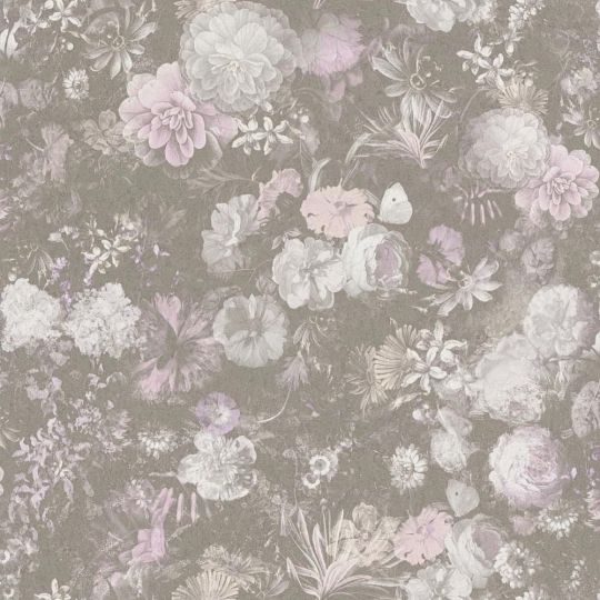 Шпалери AS Creation Impression 38004-1 мальовничий сад темно-сірий метрові