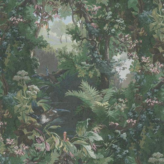 Шпалери AS Creation Impression 38005-1 ліс зелений метрові