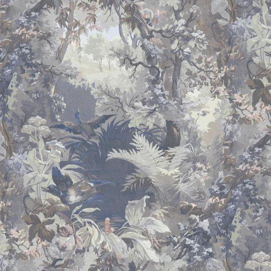 Обои AS Creation Impression 38005-2 лес сине-серый метровые