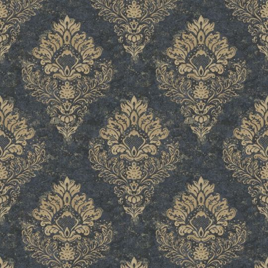 Метрові шпалери AS Creation Global Spots 38014-1 Версаль чорний