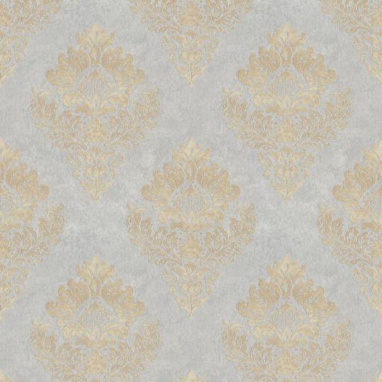 Метрові шпалери AS Creation Global Spots 38014-5 Версаль тепле срібло