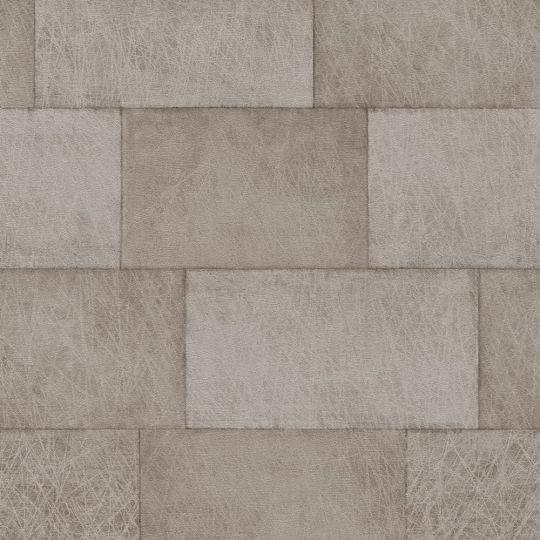 Обои AS Creation Titanium 3 38201-3 блоки коричневые