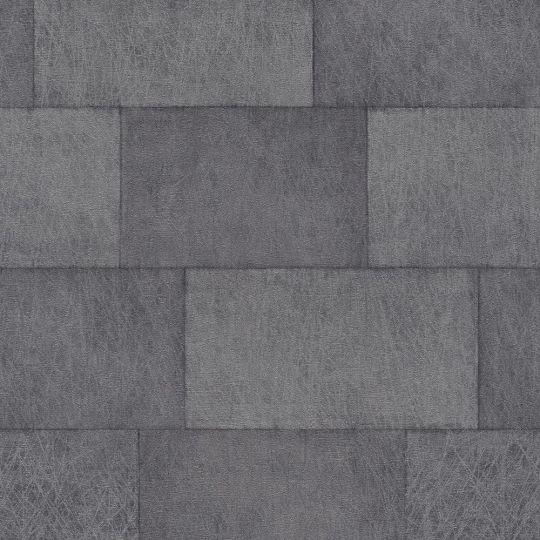 Обои AS Creation Titanium 3 38201-6 блоки графитовые