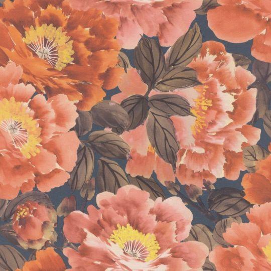 Шпалери Rasch Kimono 408348 квітучий сад рожевий