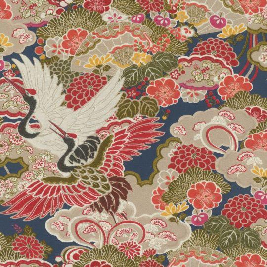 Шпалери Rasch Kimono 409352 японський мотив різнокольоровий