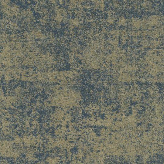 Шпалери Rasch Kimono 410723 синьо-золота штукатурка